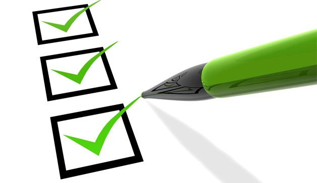 The priority checklist