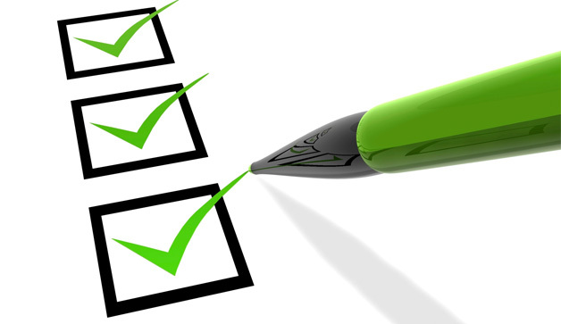 The priority checklist