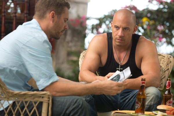 Paul Walker and Vin Diesel