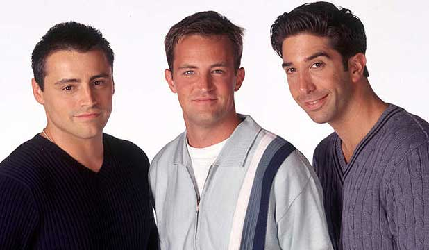 Matt LeBlanc, Matthew Perry, David Schwimmer