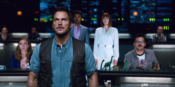 Chris Pratt as Owen in Jurassic World