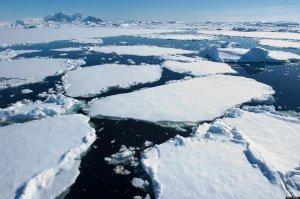 Antarctica's Melting Ice Caps