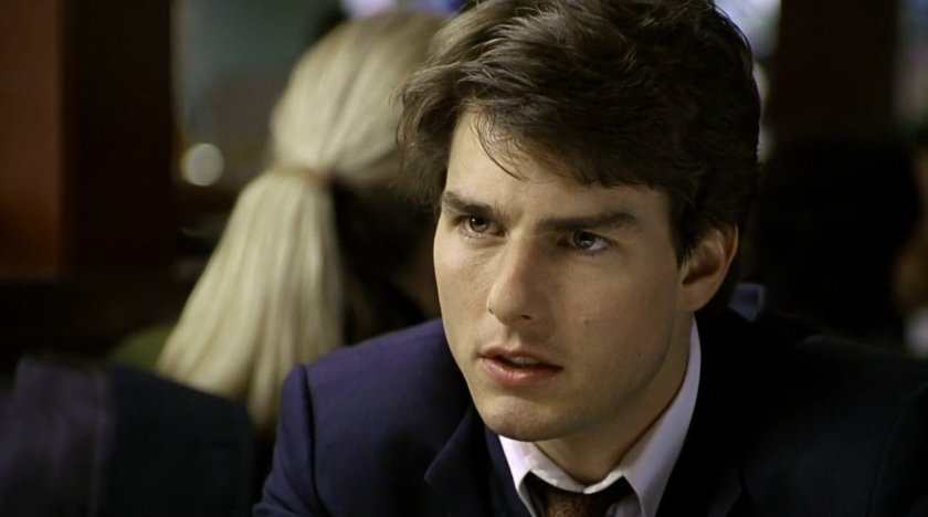 Tom Cruise as Mitch McDeere