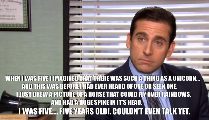 Michael Scott quote