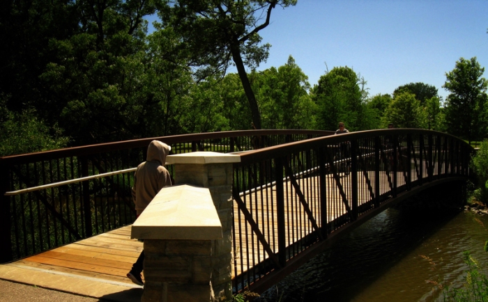 A bridge can symbolize almost anything. But in my walk with God, it symbolizes forgiveness to new life.
